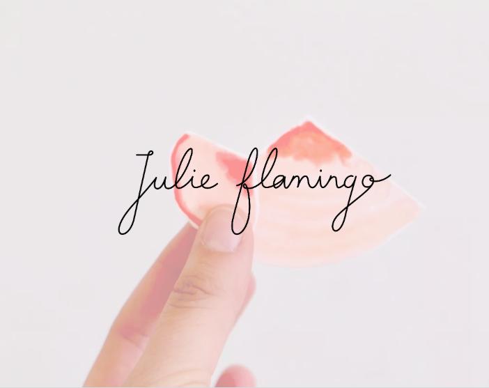 Site web Julie Flamingo